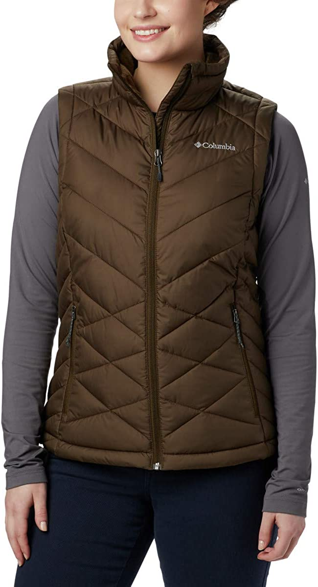 Synthetic Insulation Water Resistant Columbia Womens Heavenly Vest