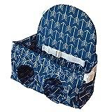 non-brand Cojín Plegable de Cochecito Sillas de Bebé Juguetes de Necesidad Especial Aprender - Azul Profundo