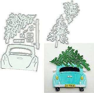 Plane Car Cutting Dies Stencils Scrapbook Embossing DIY Craft Album Card #Z