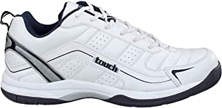 Lakhani 064 White Tracking Running Sport Shoes for Men's