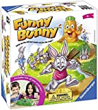 Ravensburger Funny Bunny Game for Boys & Girls Age 4 & Up - A Fun & Fast Family Game You Can Play Over & Over