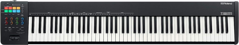 Roland 送料無料 新品 A-88 MKII 88-Key MIDI Controller Keyboard 売り出し