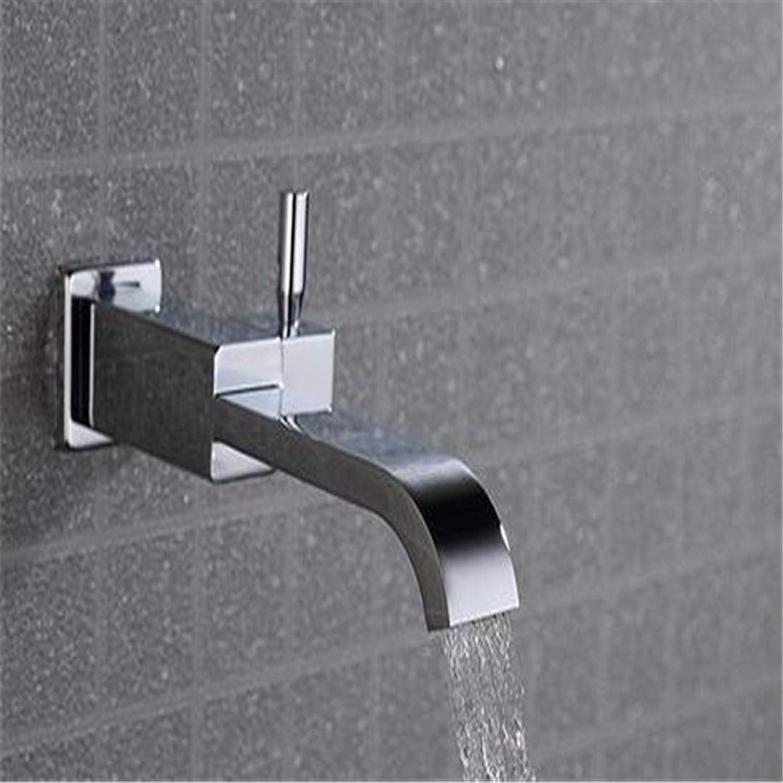 Waschtischarmaturen Waschbecken Waschbecken über Waschbecken Wasserhahn Einzigen Kalten Einzigen Loch Dunkel In Wand Wasserhahn