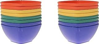 Handi-Ware Bulk Melamine Blend 16-Pack - 5.5