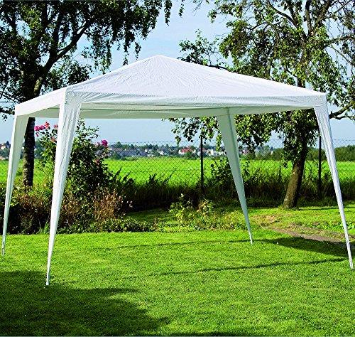 Sahara Pavillon 3x3 PE ws Gestell weiss