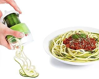 Juego de cortadores en espiral, cortador en espiral para espaguetis vegetales, cortador en espiral para vegetales, rebanador de vegetales para zanahoria, calabacín, papa, pepino, calabaza, cebolla