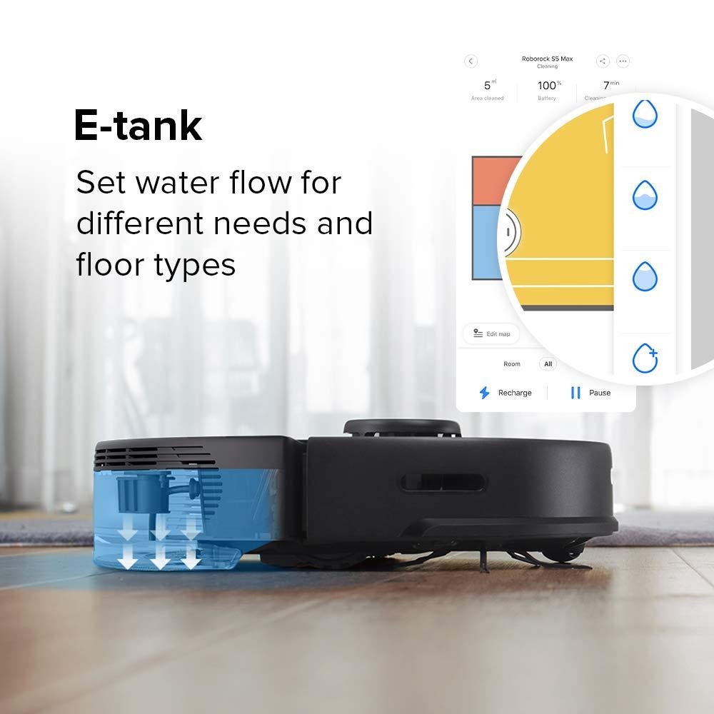 roborock S5MAX aspirateur Robot con depósito de Agua eléctrico ...