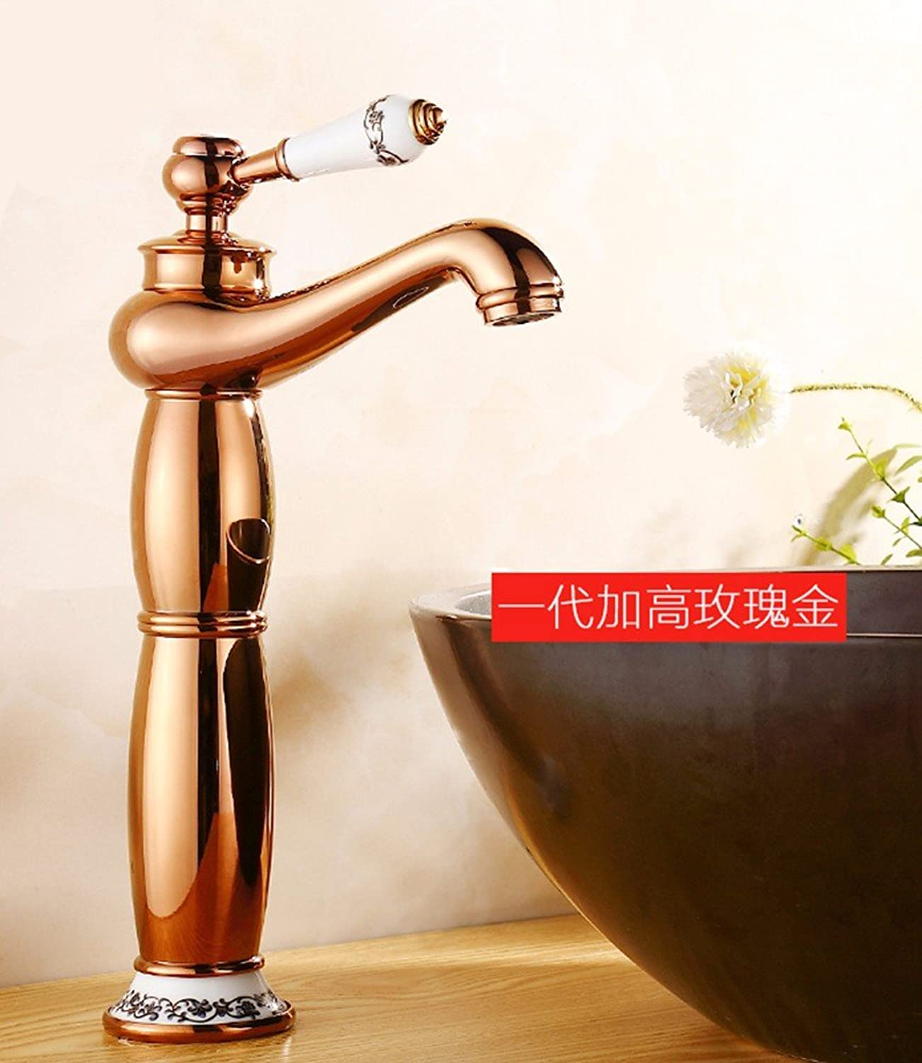 Hlluya Professional Sink Mixer Tap Kitchen Faucet Hot and cold, the basin, plus high, the tap 7