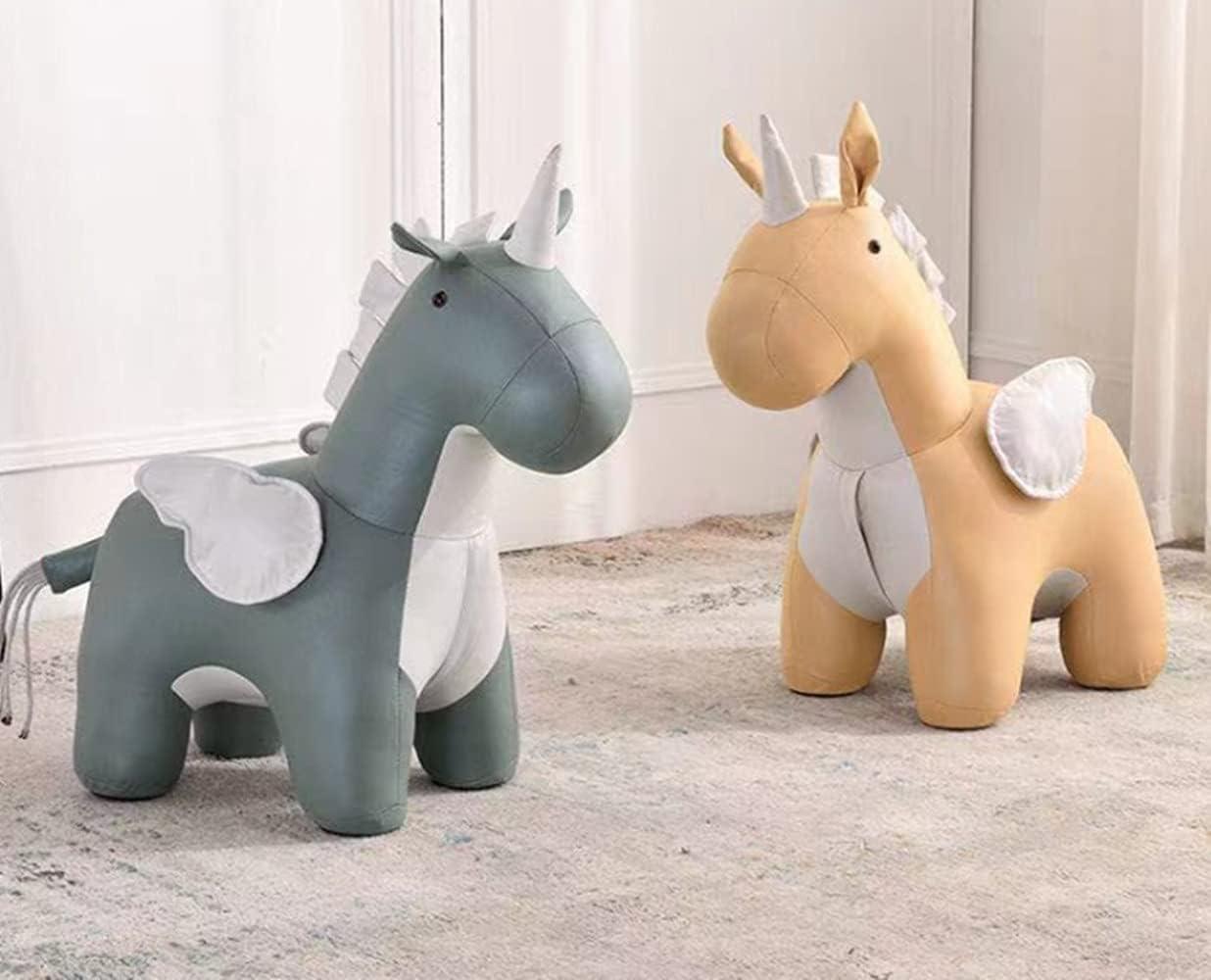 Children's Creative Unicorn Stool Cartoon red Cu seat Animal net High Special Campaign order