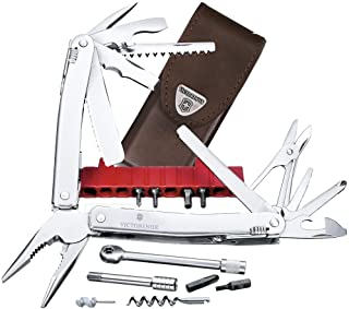 VICTORINOX MULTI TOOL SPIRIT XC PLUS RATCHET 3.0239.L WITH LEATER POUCH Swiss made multi-tool with 36 functions