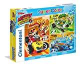 Clementoni- Puzzle Mickey and The Roadster Racer 3 X 48 PZAS, Multicolor (25227)