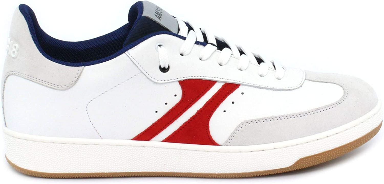 A.M 318 Sneeaker Arrow röd Blaze Taglia 40 40 40 - Färge Bianco  blå  röd  generell hög kvalitet