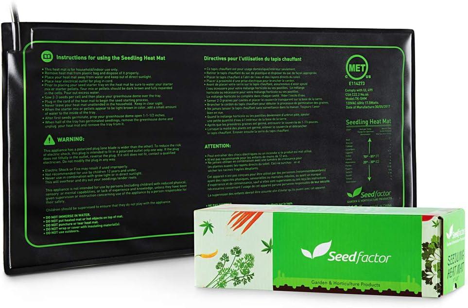 Fashionable Directly managed store MET certified Seedling Heat Mat Durable Waterproof G Seedfactor