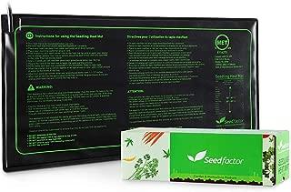 MET certified Seedling Heat Mat, Seedfactor Waterproof Durable Germination Station Heat Mat, Warm Hydroponic Heating Pad for Indoor Home Gardening Seed Starter(10