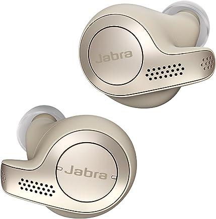 Jabra Elite 65t Alexa Enabled True Wireless Sports Headset with Charging Case - Gold