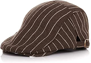 AMAZACER Baby Irish Cap Boy Flat Cap Beanie Hat Gatsby Hat (Color : Mocha)