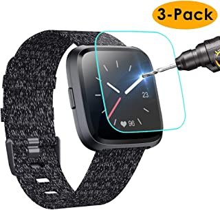 KIMILAR [3-Pack] Screen Protector Compatible with Fitbit Versa/Versa Lite Smart Watch,..