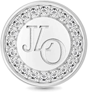 Endless Jewelry JLO Signet Rhodium-Plated Silver Charm