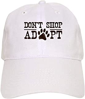 HuNa-Store Don't Shop Adopt - Baseball Cap with Adjustable Closure, Unique Printed Baseball Hat