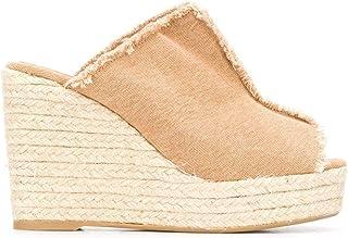 Luxury Fashion | Castaner Women 0218670008 Beige Cotton Wedges | Spring-summer 20