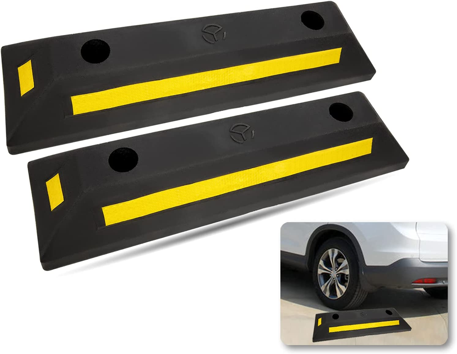 WENBIAO Industry Rubber Curb Black Heavy Pa Duty New All items free shipping Free Shipping Blocks Parking