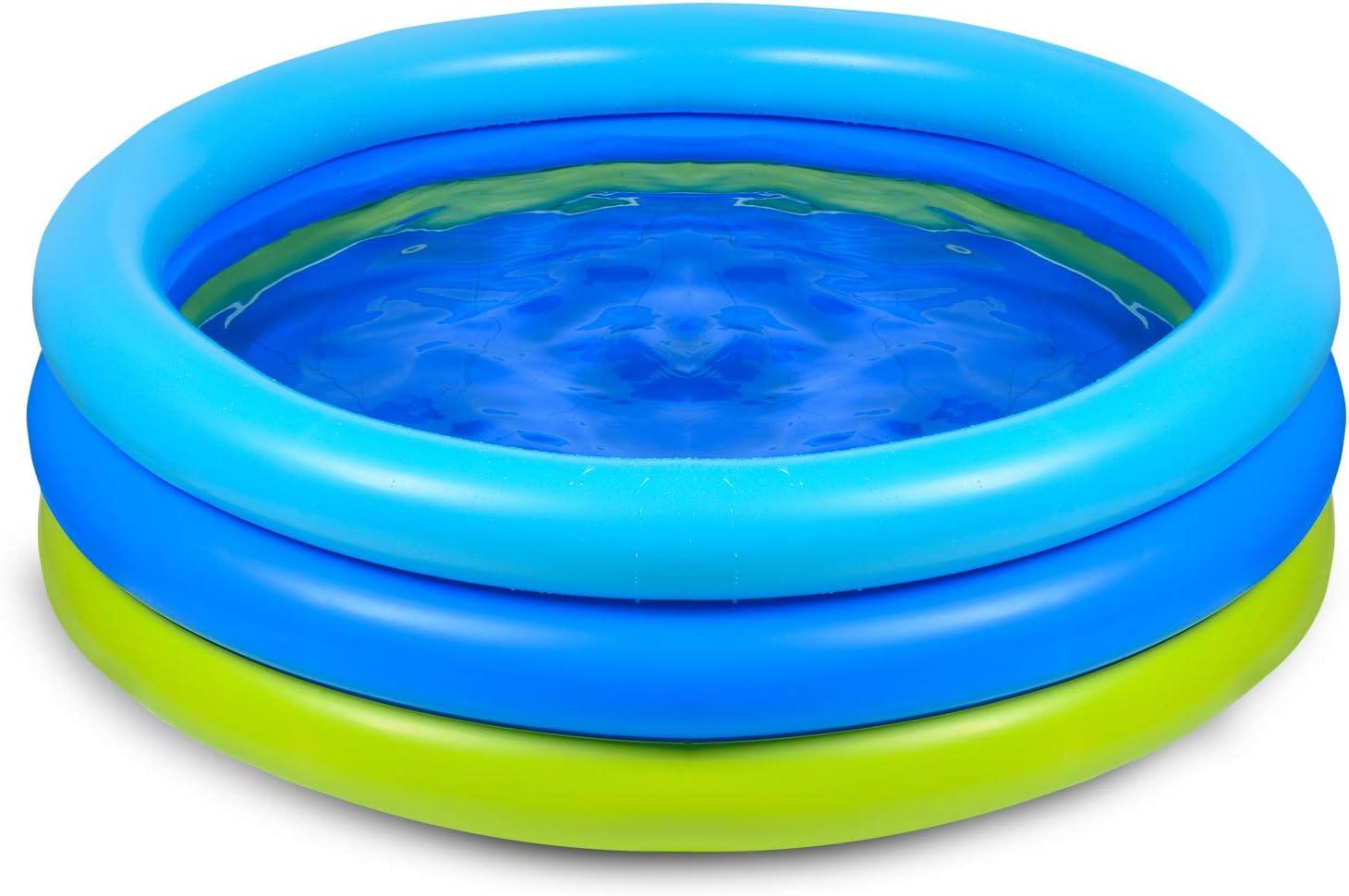 Joy joz Piscina Hinchable para Infantil Niños Piscina para Bebés Fit Summer Garden Juegos Acuáticos Familiares