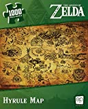 The Legend of Zelda Hyrule Map 1000 Piece Jigsaw Puzzle...