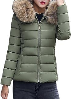 Invierno Mujeres Moda Informal más Gruesa Slim sólido Abajo Chaqueta Abrigo