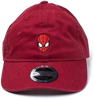 Spiderman Cap Dad Red