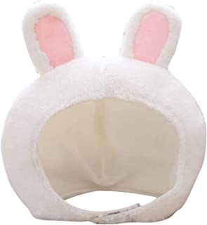 Coniglio Cappello Dellorecchio Cappello di Peluche Divertente del Partito Cappello di Pelliccia di Agnello Orecchio di Coniglio Copricapo Cap Copricapo Carino Foto Puntello per Natale Costume