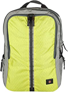 Swiss Gear Edge 16 Unisex Fashion Backpack - Yellow (600728-CHARTREUSE)