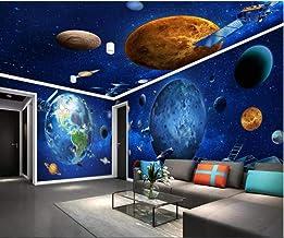 Custom Mural 3D Photo Wallpaper Cosmic Galaxy Earth Space Shuttle Toda la pared de la pared Home Improvement Wallpaper para Wall 3 D 250X175 Cm