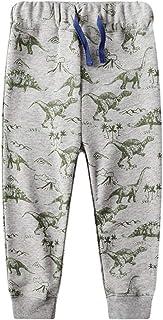 HOSD Pantalones para niños 2019 otoño nuevos Pantalones Casuales de impresión para niños Pantalones Sueltos para niños Cas...