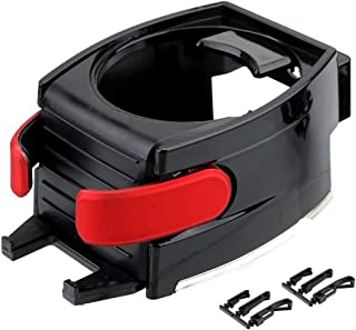 Holdream Universal Car Cup Getränkehalter Auto Styling, Auto Supplies Air Vent Outlet Wasserflasche Telefonständer (Rot)