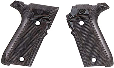 Hogue Hunting Grip Rex Zero 1 Compact - - G10 Black-Grey
