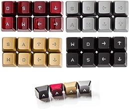 8 Keys Romer-G Backlit Keycap WASD Arrow Gaming Switch Double Shot Laser Carving Keyset for Logitech G910 G810 G413 G512 G...