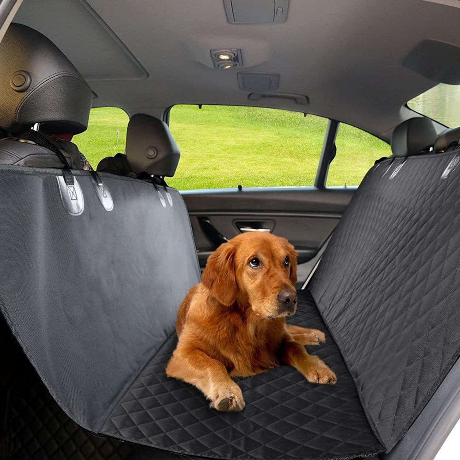 Dog Seat Cover Car Seat Covers For Pets Pet Seat Cover Dog Hammock Universal Cars And SUV  Bench Dog Car Durable Nonslip   Pet Seat Cover