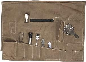 Beige One Size Bey-Berk C233T Tan Leather Telescoping Three Cigar Case
