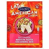 Santa Maria Rio Grande Medium Fajita Seasoning Mix, 28 g, confezione da 20