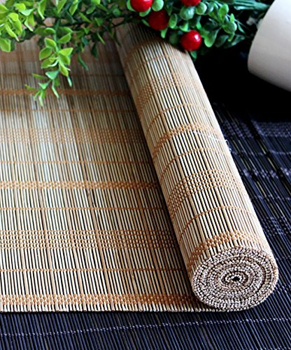 WUFENG Custom Made Bamboo Roll Up Window Blind Store Bateau En Bambou Store Anti-regard En Bambou Anti-insect Curtains Para Puertas Balcony Living Room Tea Room Sunshade Curtain store bateau en bambou ( Couleur : B , taille : 90*150cm )