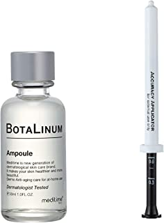 Meditime Botalinum Amopoule (BotalinumAmpoule), Concentrated Peptide, Hyaluronic Acid, Korean Ampoule Serum, Skin Repair, Reduce Wrinkle, Night Wrinkle Reducing Concentrated Ampoule, Reduce Fine Lines