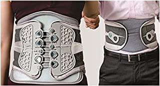 Lumbo Lacepull Back Brace - Heavy Duty Back Pain Relief Belt - Fuller Grip and Varying Pressure Control Feature (Special)