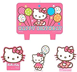 Mini Molded Cake Candles | Hello Kitty Balloon Dreams Collection | Party Accessory
