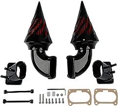 XFMT Black Dual Spike Intake Air Filter Cleaner Kit Fit For Suzuki Boulevard M109R
