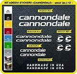 Stickers vélo Merida Kit stickers 24pièces–Choisir immédiatement Colore- Bike Cycle pegatina Cod.0104, Bianco cod. 010