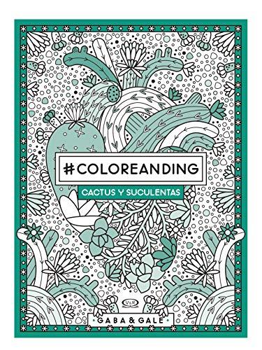 #Coloreanding Cactus y Suculentas