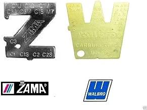 Genuine Walbro 500-13-1 & Zama ZT-1 Metering Lever Adjustment Tool Combo OEM