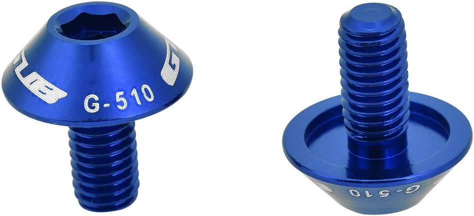 2 PCS Yosoo Health Gear Bicycle Water Bottle Cage Hex Bolts M5 x 12mm Bolt Screws for Bike Water Bottle Cage Holder