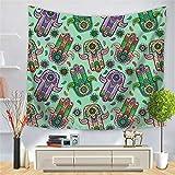 OTIAN Wandteppich Mandala Tapisserie Wandbehang Indien Stoff Dekor Decke Yoga Matte Strand Handtuch Wandteppich 10 Farben
