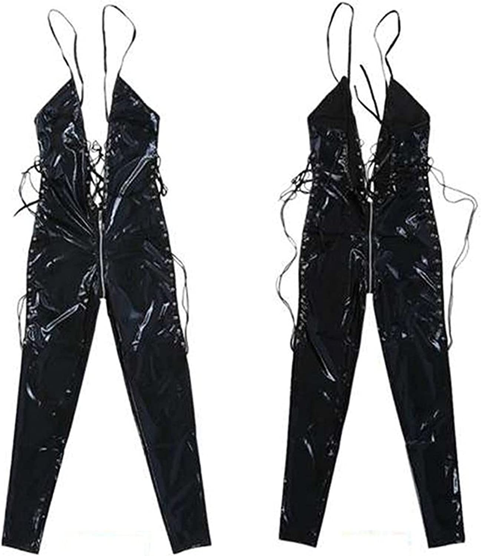 xoxing Women's Lingerie Plus Size Sleepwear Intimates Sexy Underwear Pajamas Chemise Halter Nightwear Tank Tops (M)